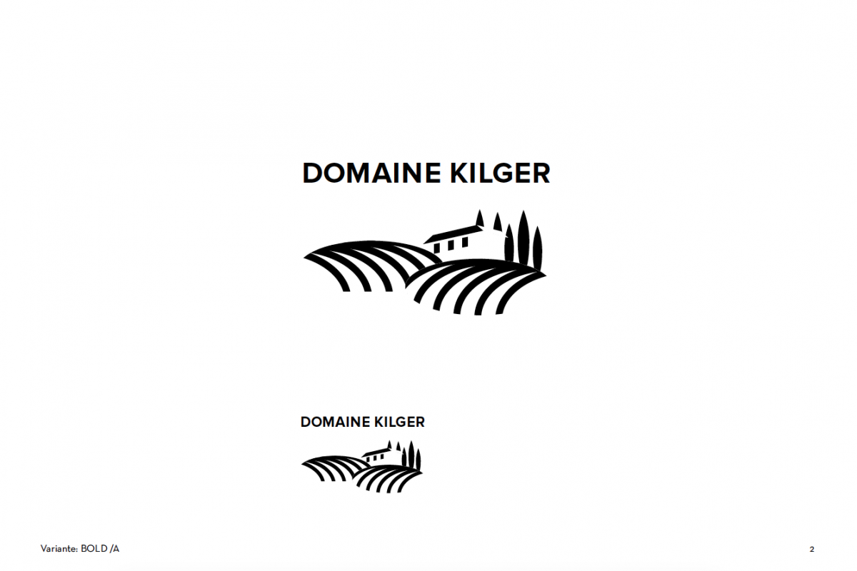 Logoentwurf_Domaine_Kilger_Klaus_Egle_Elisabeth_Egle_2